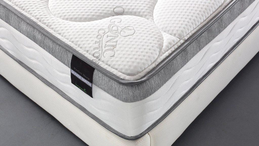 Oliver Smith Euro Pillow Top Mattress Review Sleepify