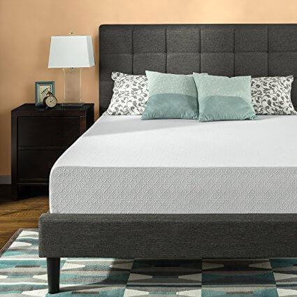 Zinus 12 Inch Gel Infused Memory Foam Mattress Review Sleepify